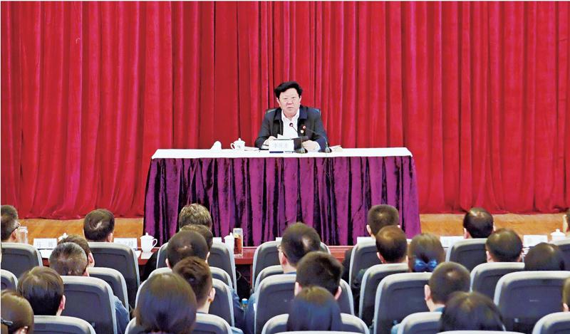 李庆奎深入基层党建工作联系点宣讲党的十九大精神